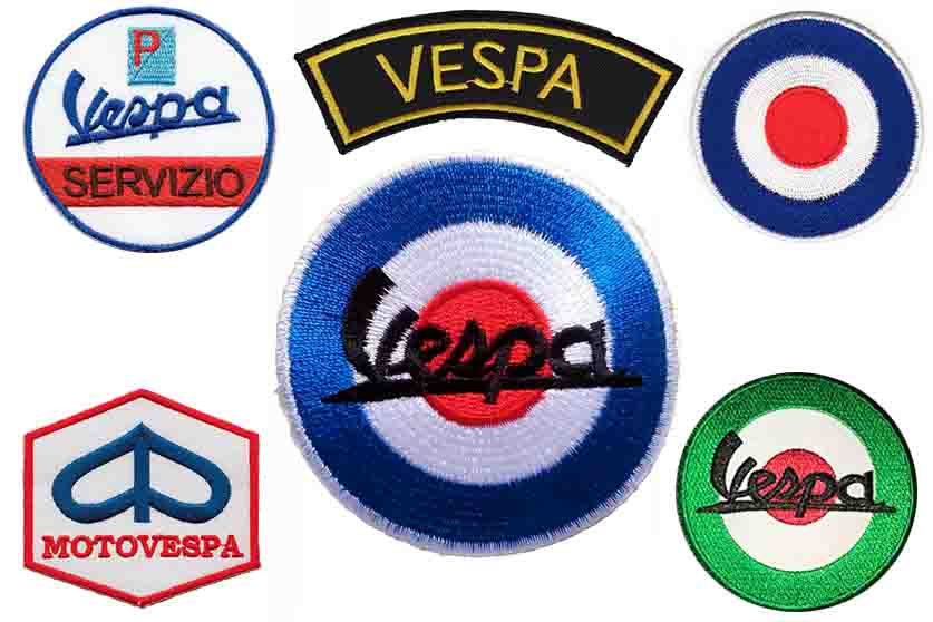 parches vespa