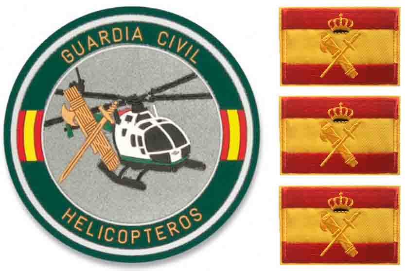 parches guardia civil