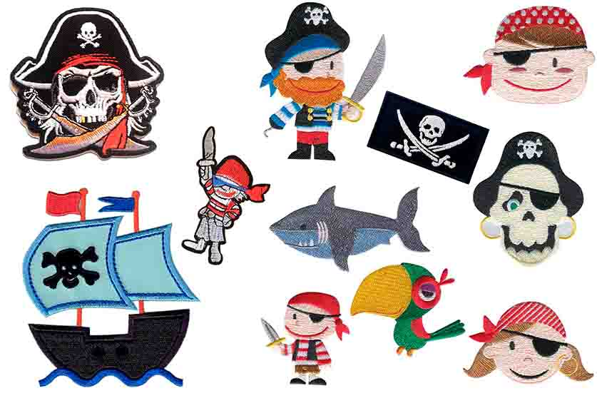 parches piratas