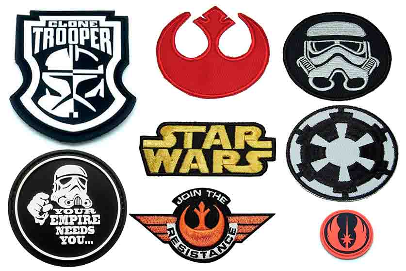 parches star wars