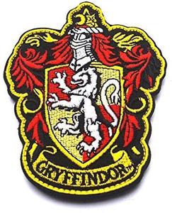 Escudo Gryffindor Harry Potter Bordado