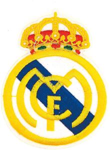 Escudo bordado Real Madrid
