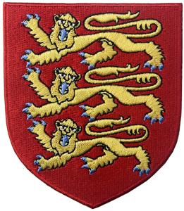 Escudo de Armas Inglaterra Bordado
