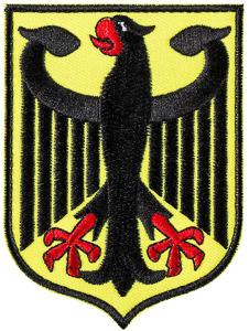 Escudo de armas alemania bordado