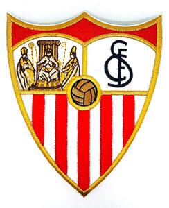 Escudo del Sevilla FC bordado