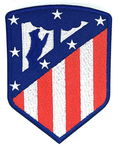 Escudo del atletico de madrid bordado