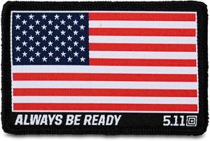 Parche Crossfit Bandera Americana Color 5.11