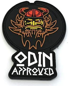 Parche Crossfit Odin Aproved